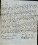 1848 Baltimore Maryland (MD) Contract Baltimore County  Talbott R. Ridgely Battey Samuel Burnett John N.Berry