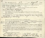 1930 Pottsville Pennsylvania (PA) Contract Diamond Home Improvement Company  N.G. Kelly