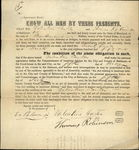 1851 Baltimore Maryland (MD) Contract City and County of Baltimore